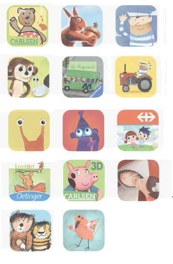 Kinderbuch Apps